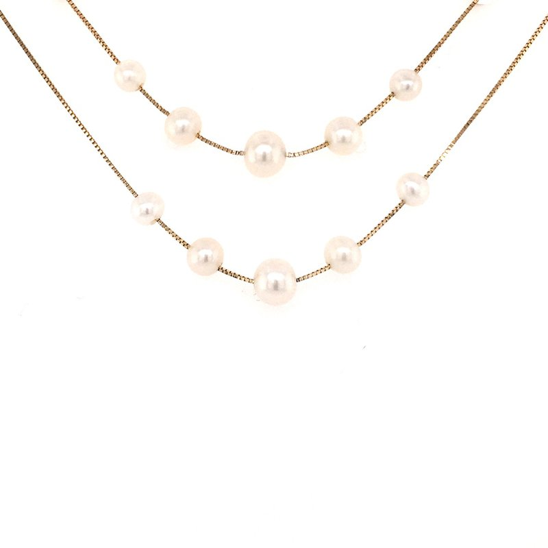 Imperial Pearl Pearl Station Necklace