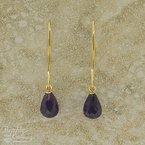 Carla Amethyst Briolette Earrings