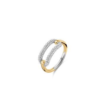 Two Tone Open Ring