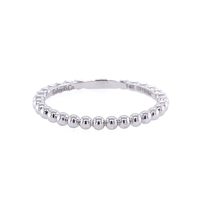 Gabriel & Co. -  IN-STORE COLLECTION Simple Beaded Ring