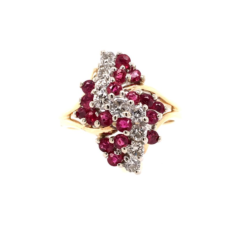 B&C Estate Collection Ruby & Diamond Ring
