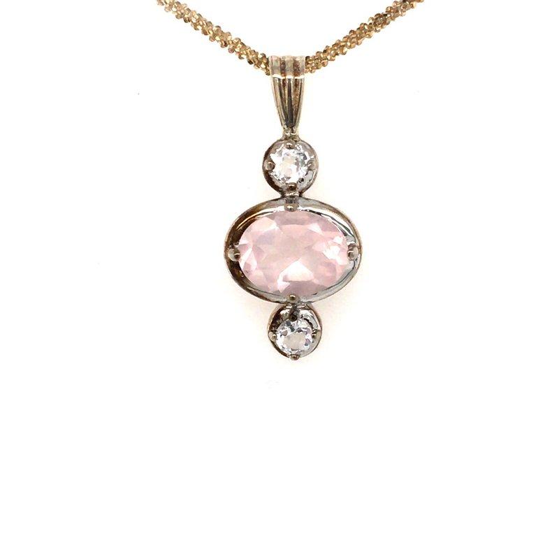 BRIAN'S VAULT Rose Quartz Necklace