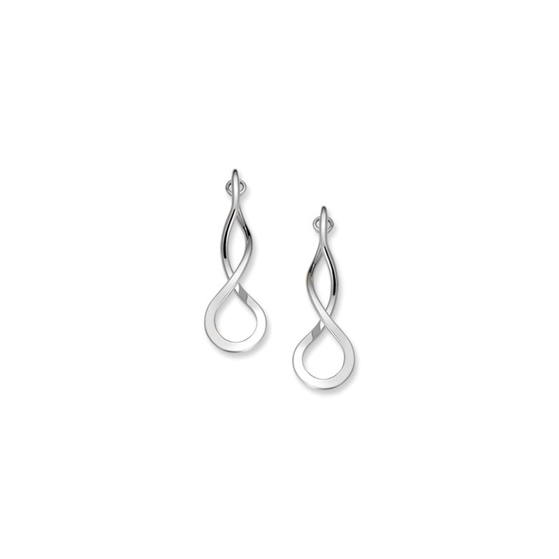 E. L. Designs IN-STORE Collection S/S Endless Braid Earrings