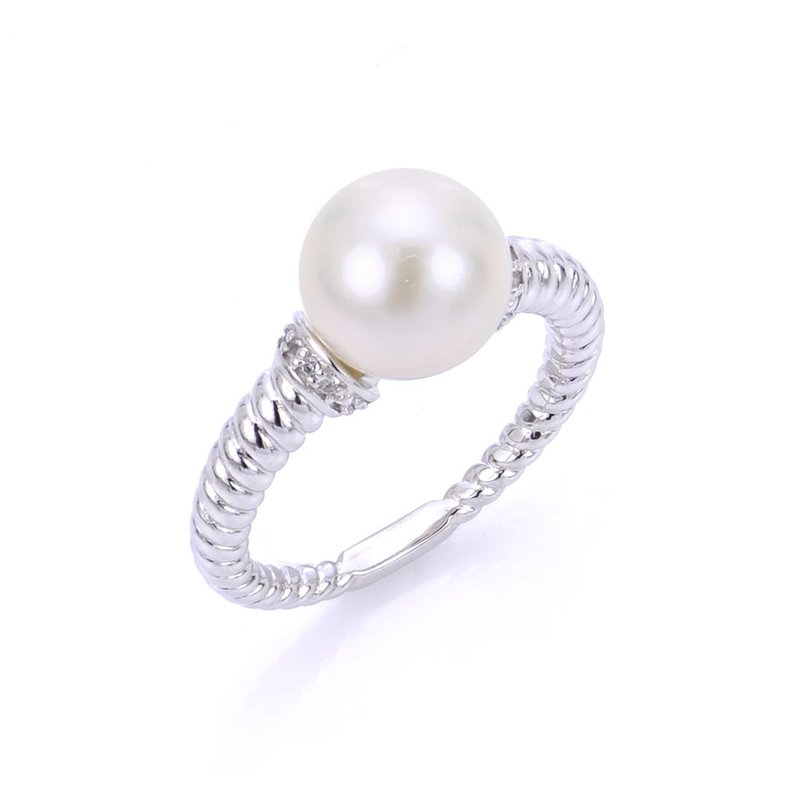 Imperial Pearl Twisted Pearl Ring