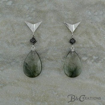 Edenite Drop Earrings