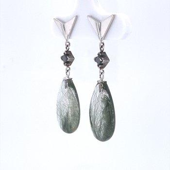Edenite Drop Earrings