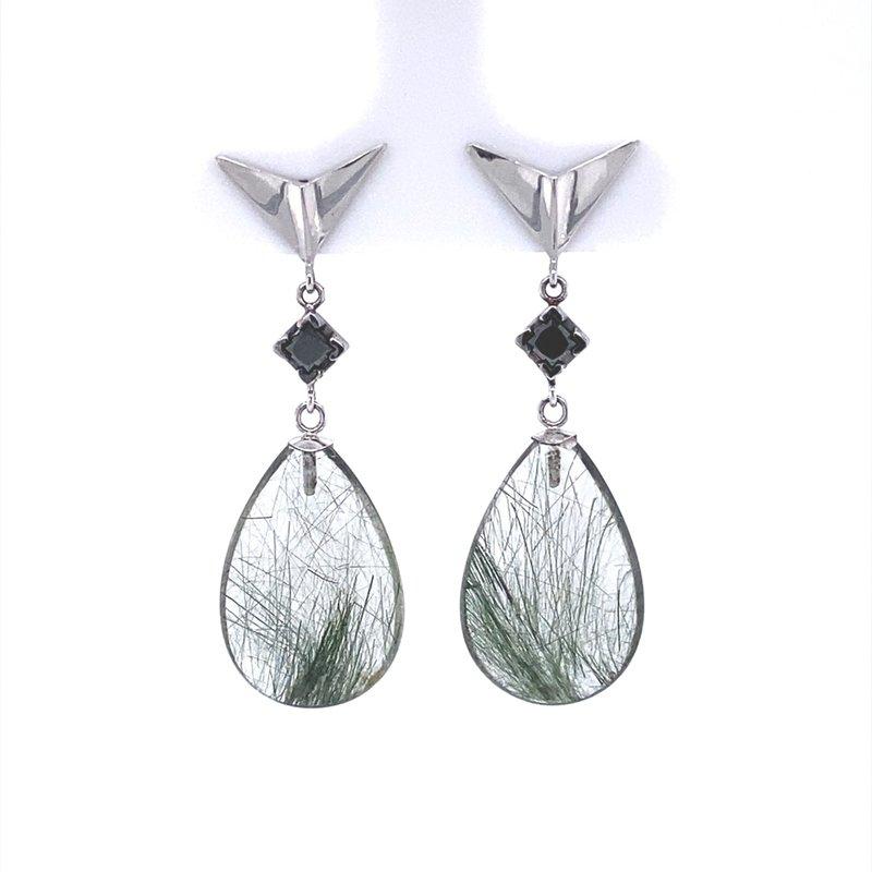 B&C Creations Edenite Drop Earrings