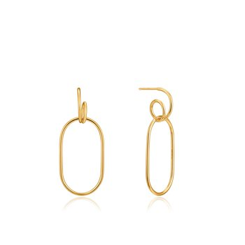 Spiral Oval Hoops