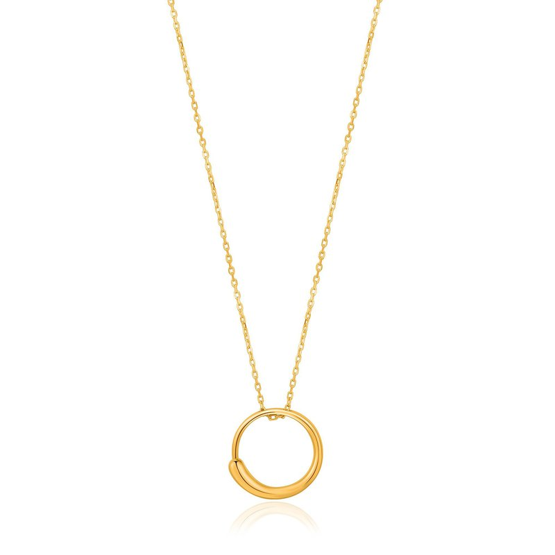 Ania Haie Luxe Circle Necklace