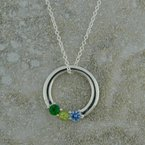 Uniquely Yours . . .  Mother Circle Necklace