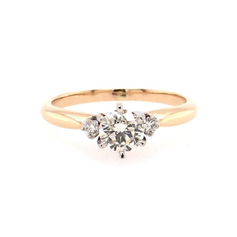 B&C Creations Three Stone Engagement  Ring