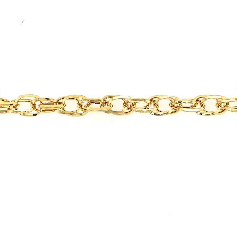 Phillip Gavriel Gold Euro Link Bracelet