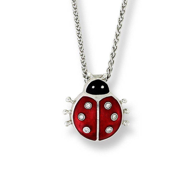Nicole Barr Designs IN-STORE Collection Lady Bug Necklace