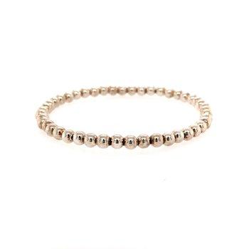 Children's Sterling Silver Bead Bracelet