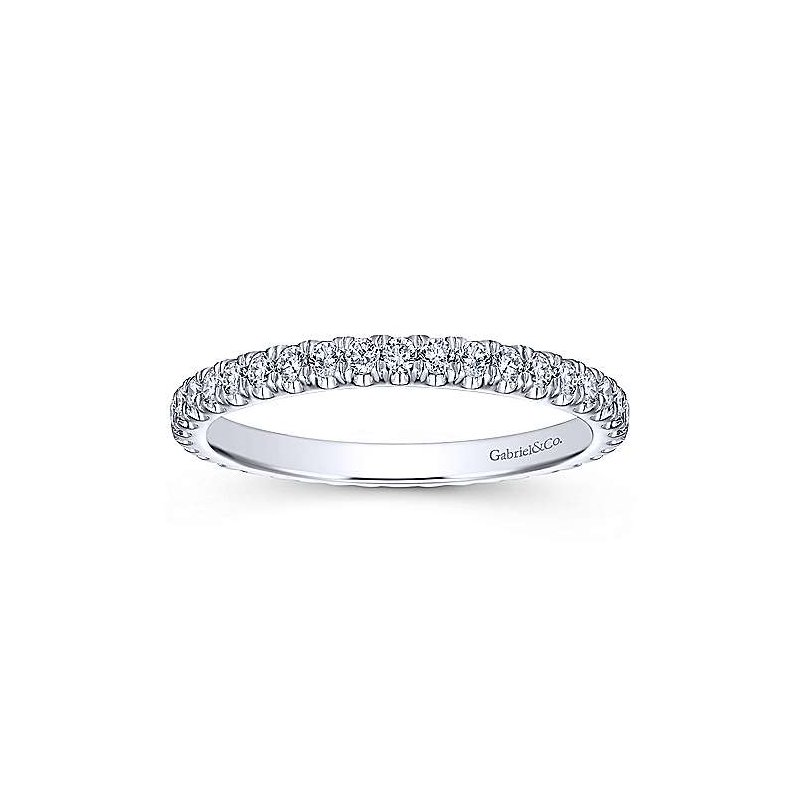Gabriel & Co. -  IN-STORE COLLECTION Diamond Stackable Band