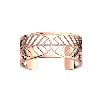 25MM Faucon Rose CZ Cuff