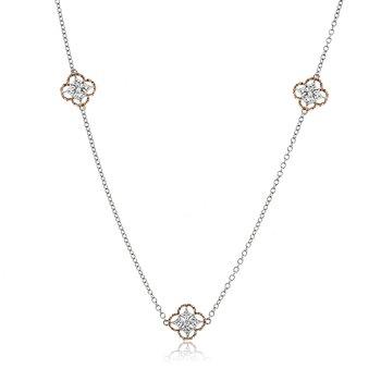 Trellis Station Necklace