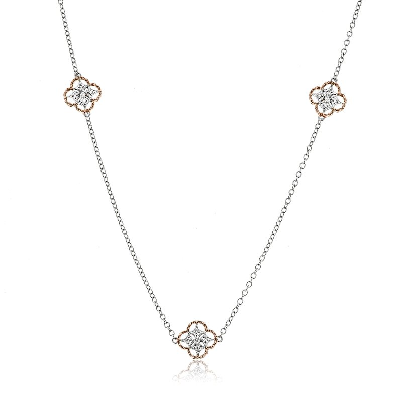 Simon G IN-STORE COLLECTION Trellis Station Necklace