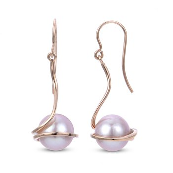 Blushing Pearl Earrings