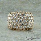 B&C Creations Diamond Cocktail Ring