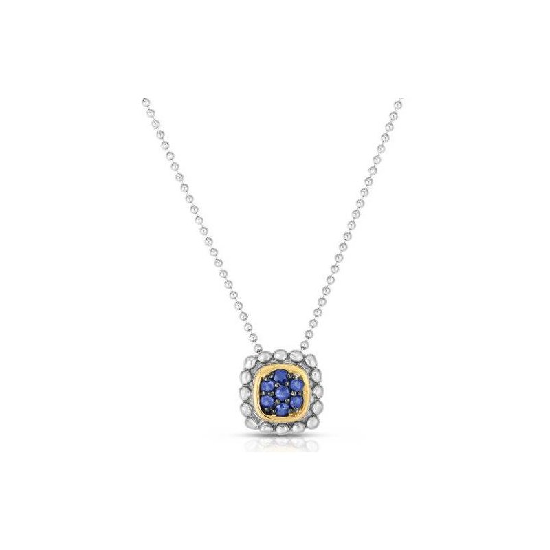 Phillip Gavriel Blue Sapphire Pendant