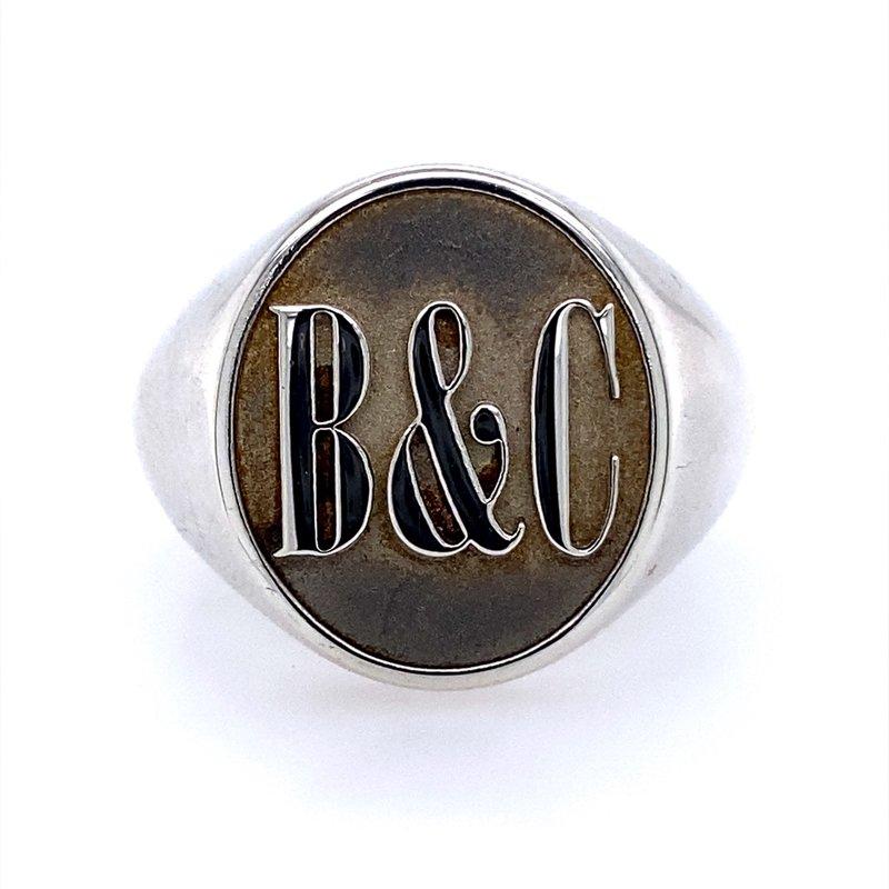 B&C Creations Men's Signet Ring