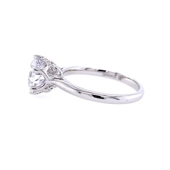 18KW Engagement Ring