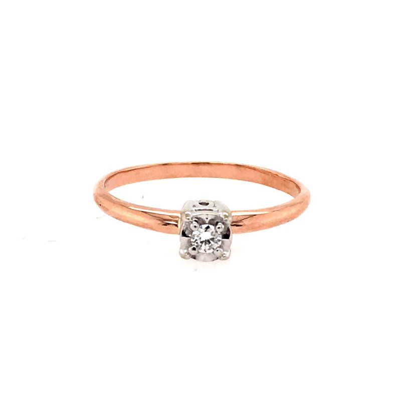 B&C Creations Diamond Promise Ring