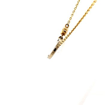 Moonstone and Diamond Pendant
