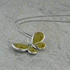 Galatea Yellow Butterfly Pendant