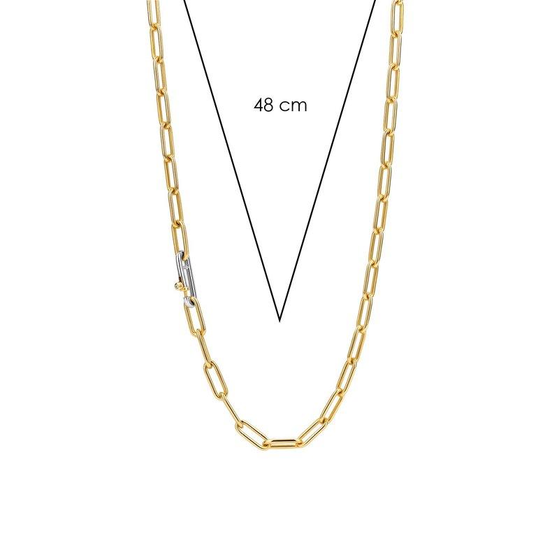 Ti Sento Fancy Link Necklace