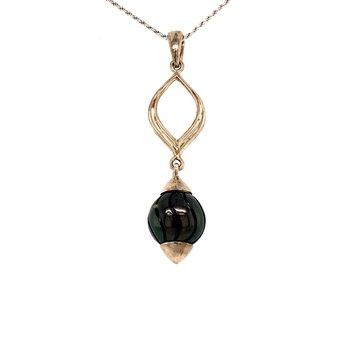 Black Tahitian Pearl Pendant