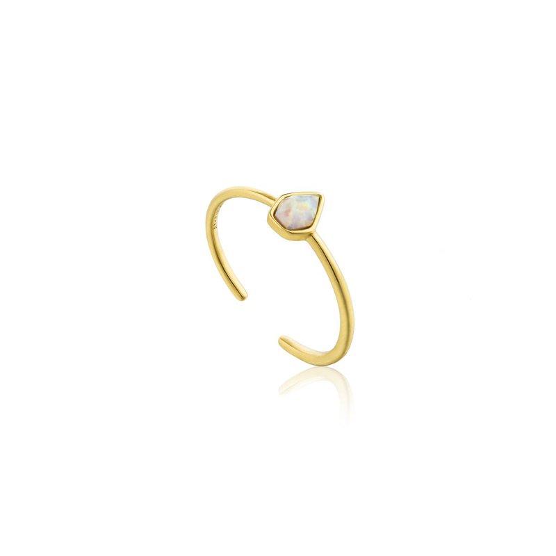Ania Haie Opal Colour Adjustable Ring