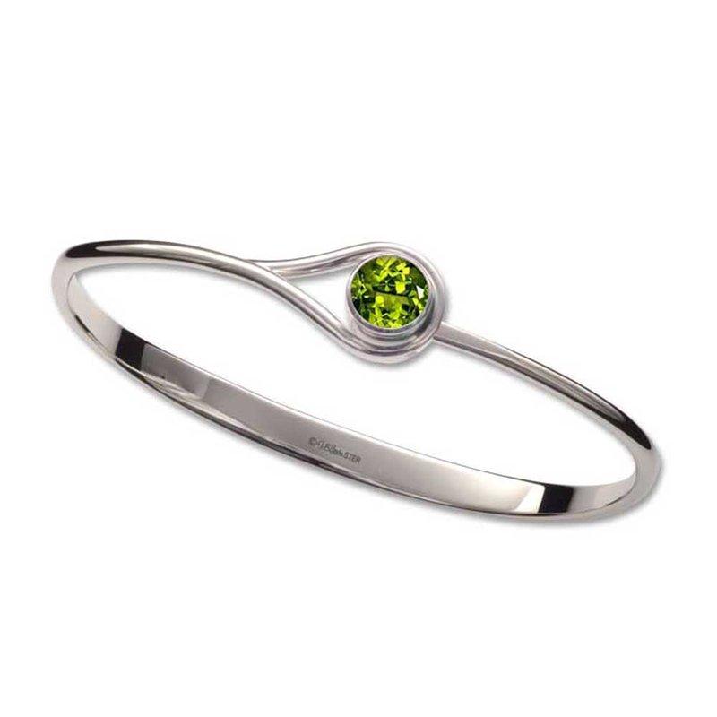 E. L. Designs Peridot Desire Bracelet
