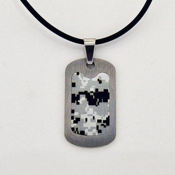 Titanium Dog Tag Necklace