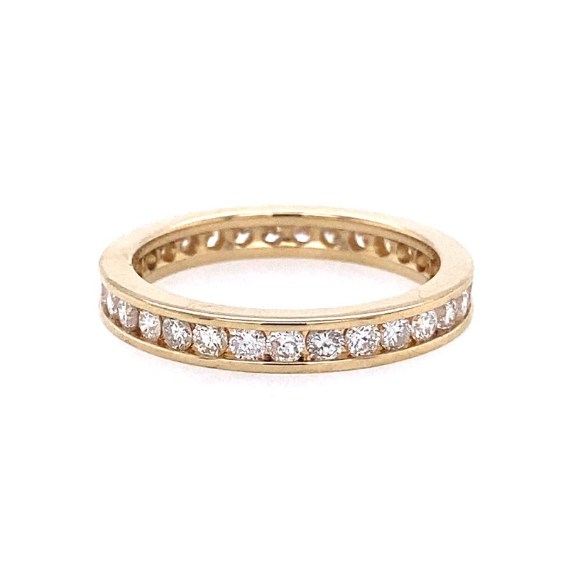 B&C Collections Channel Set Diamond Eternity Band