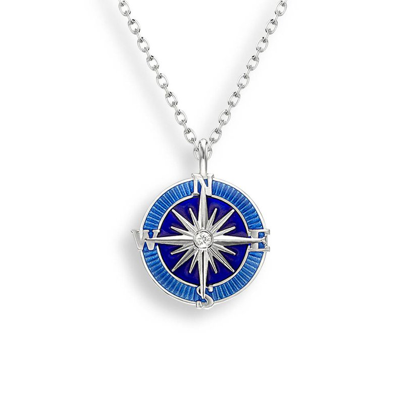 Nicole Barr Designs IN-STORE Collection Enamel Compass Necklace
