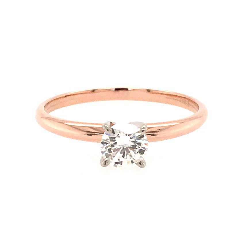 B&C Creations Diamond Solitaire Engagement Ring
