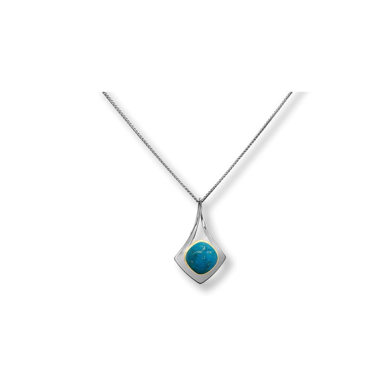 E. L. Designs IN-STORE Collection S/S Free Flight Turquoise Pendant