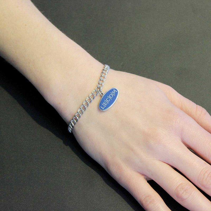 LECOM Bracelet - S/S Double Link