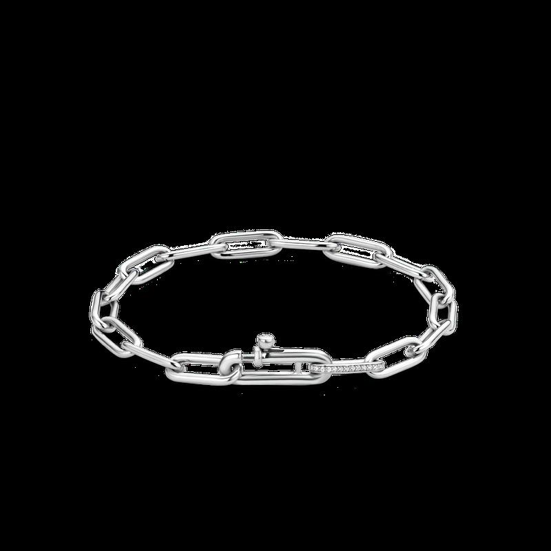 Ti Sento Sterling Fancy Link Bracelet