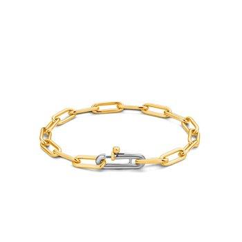 Sterling Fancy Link Bracelet