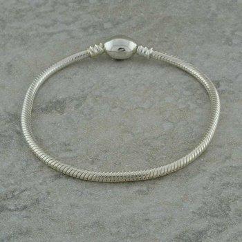 Bracelet -  S/S Oval Snap
