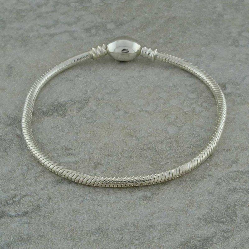 LECOM Bracelet -  S/S Oval Snap