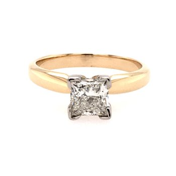 1.0 Carat Princess Cut Solitaire