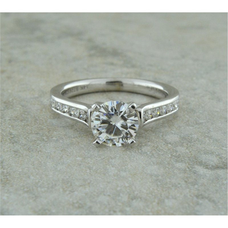 Gabriel & Co. -  IN-STORE COLLECTION 14K White Diamond Engagement Ring