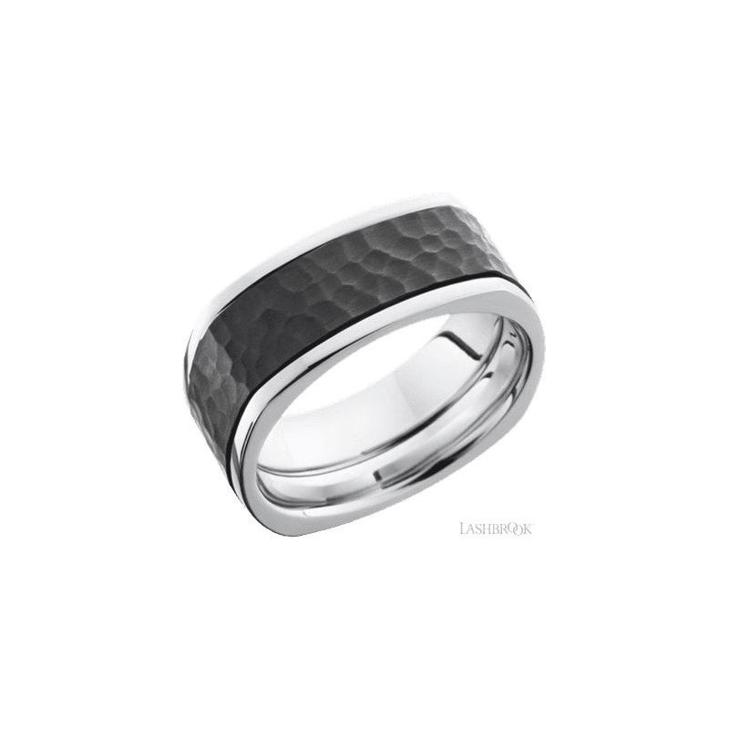 Lashbrook Designs Cobalt Chrome and Zirconium Band