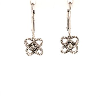 Diamond Orbital Earrings