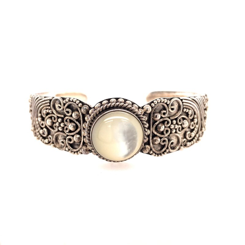 B&C Estate Collection Mother of Pearl Cuff