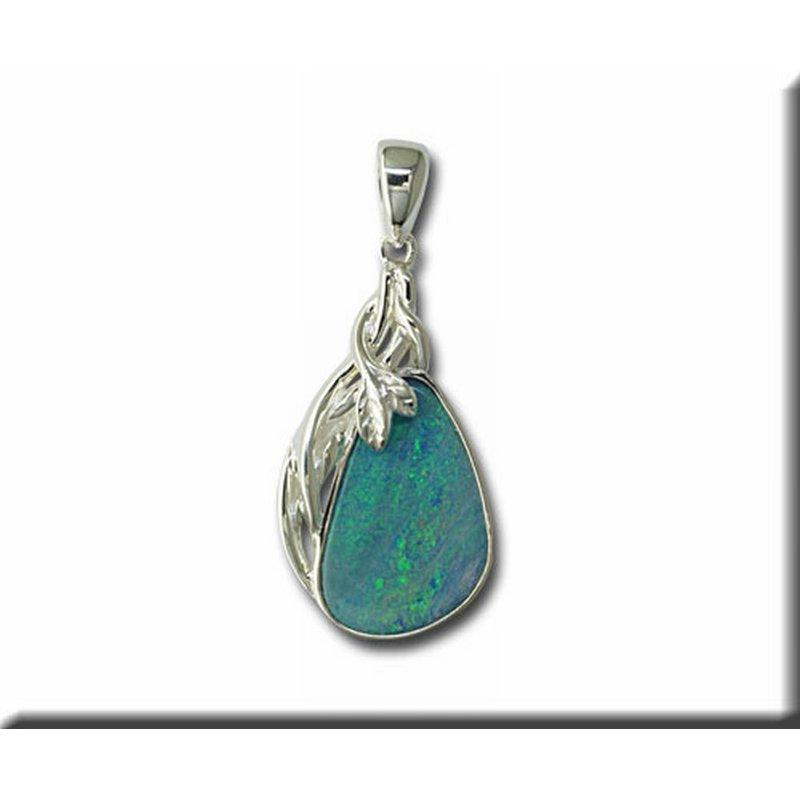 Parlé Opal Doublet Pendant